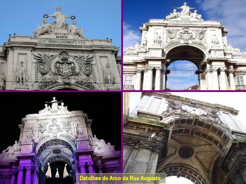 www.vitanoblepowerpoints.net Detalhes do Arco da Rua Augusta.