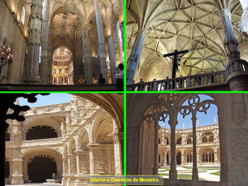 www.vitanoblepowerpoints.net Interior e Claustros do Mosteiro.
