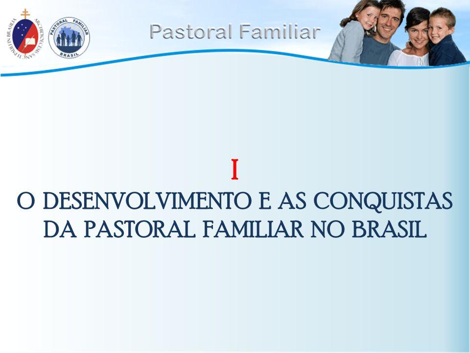 1.A partir da Familiaris Consortio (22.11.1981) aconteceu uma mobilização no mundo inteiro em favos da Pastoral familiar.