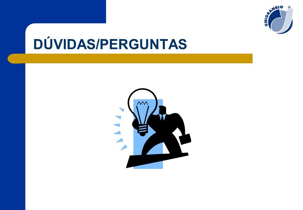 DÚVIDAS/PERGUNTAS