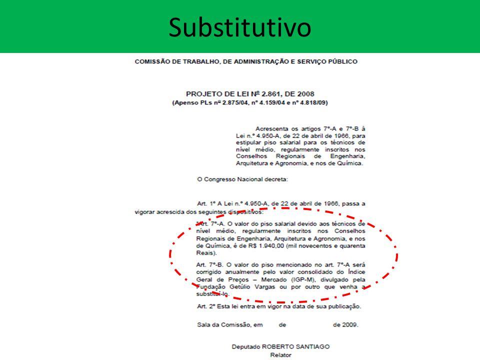 Substitutivo