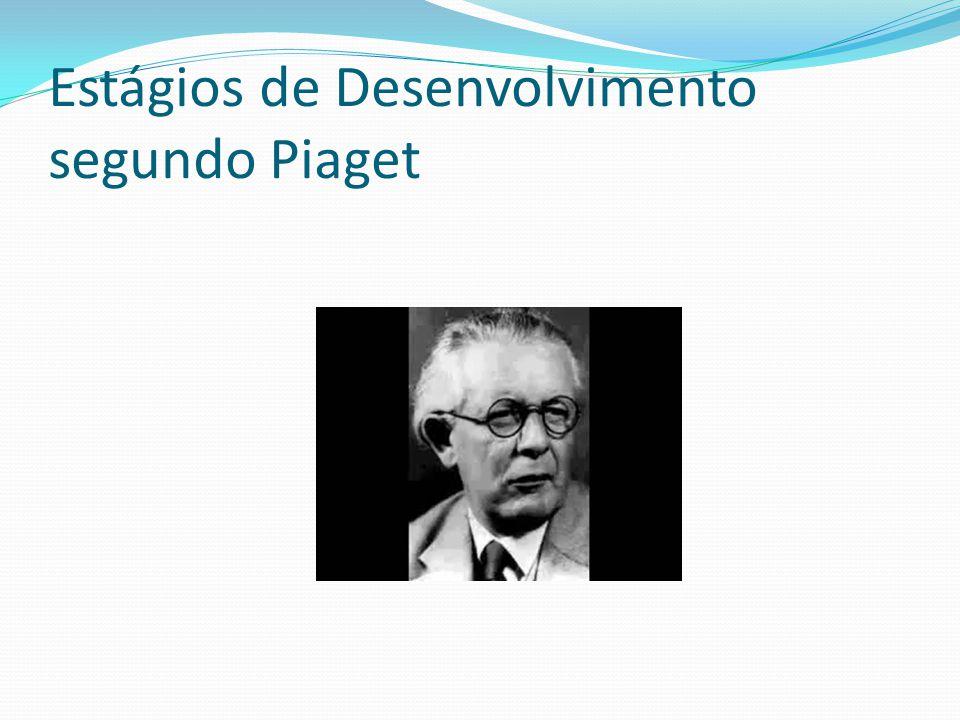 Estágios de Desenvolvimento segundo Piaget