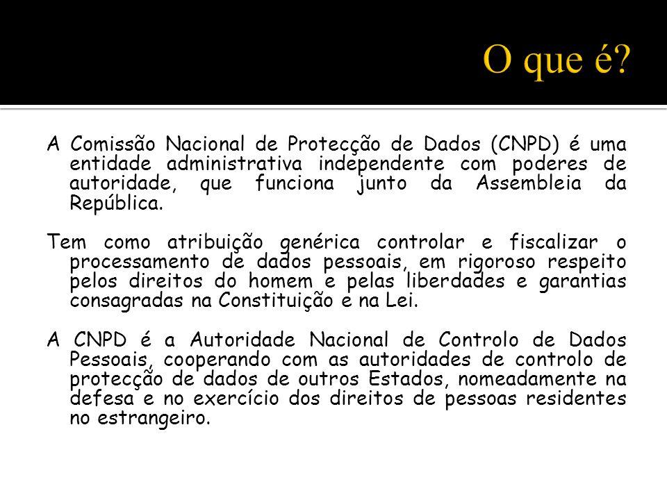 Rua de São Bento n.º 148-3º 1200-821 Lisboa - Tel: +351 213928400 - Fax: +351 213976832 - e-mail: geral@cnpd.pt