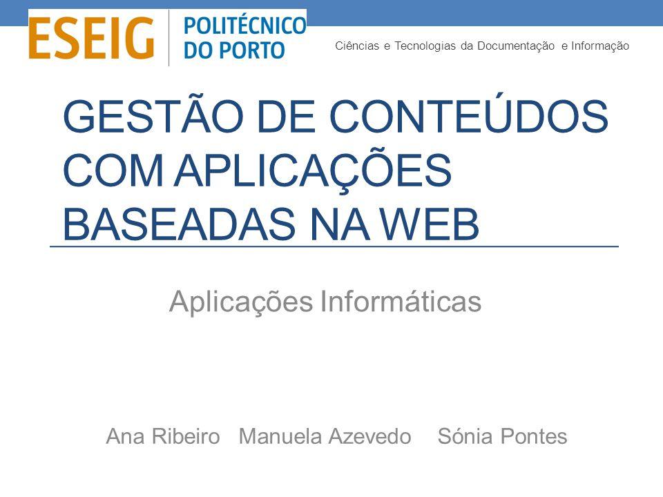 Estrutura Introdução Planificação do trabalho Conceitos Web 2.0 Webnode Zoho-Project Wordpress Wix Levantamento de requisitos e estudo comparativo Escolha fundamentada Desenvolvimento do Website – Evento Mania Conclusão Referências Bibliográficas