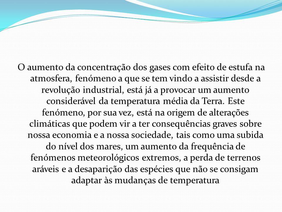 Alterações climatéricas em Portugal Em Portugal, existem cada vez mais indícios de que as alterações climáticas globais são uma realidade com as quais teremos de lidar durante muito tempo.