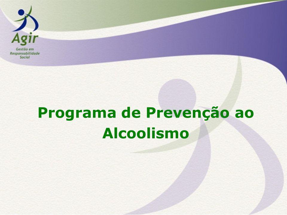 Alcoolismo = doença O alcoolismo é doença reconhecida formalmente pela Organização Mundial de Saúde (OMS).