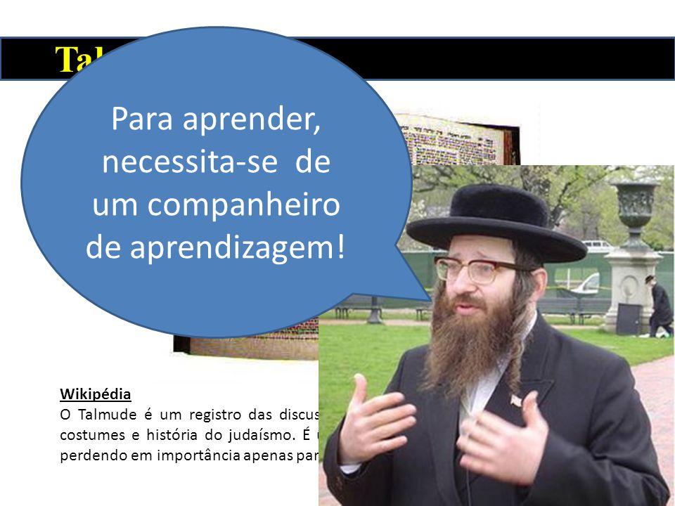 Talmude Wikipédia O Talmude é um registro das discussões rabínicas que pertencem à lei, ética, costumes e história do judaísmo. É um texto central par