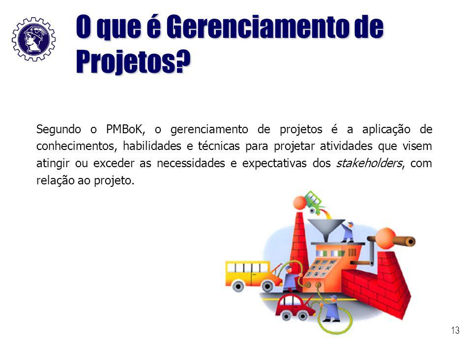 13 Segundo o PMBoK, o gerenciamento de projetos é a aplicação de conhecimentos, habilidades e técnicas para projetar atividades que visem atingir ou e
