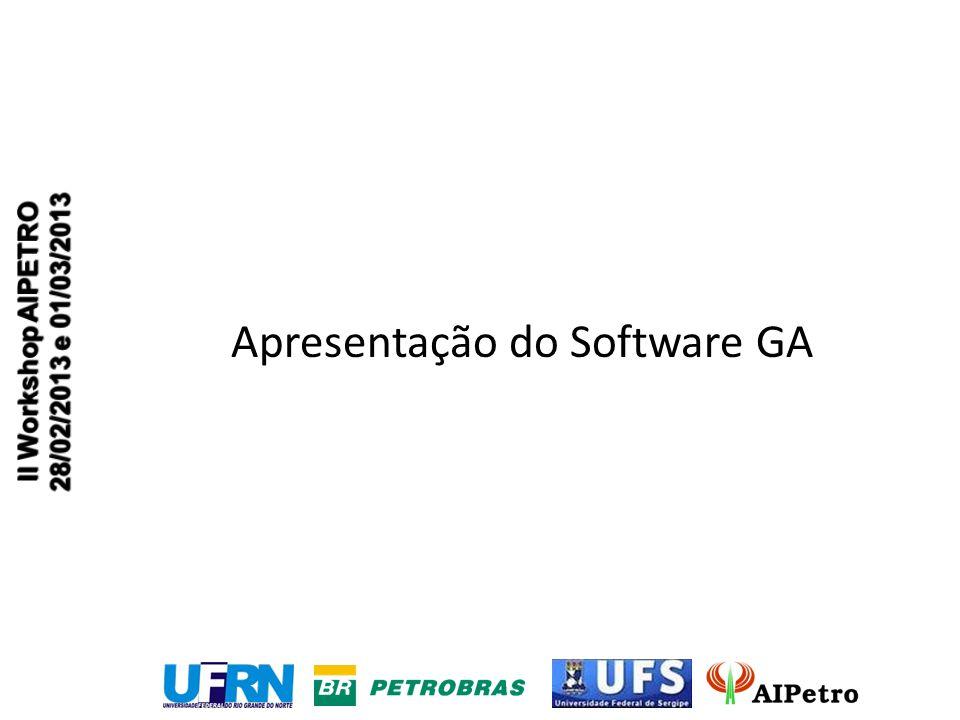 Apresentação do Software GA