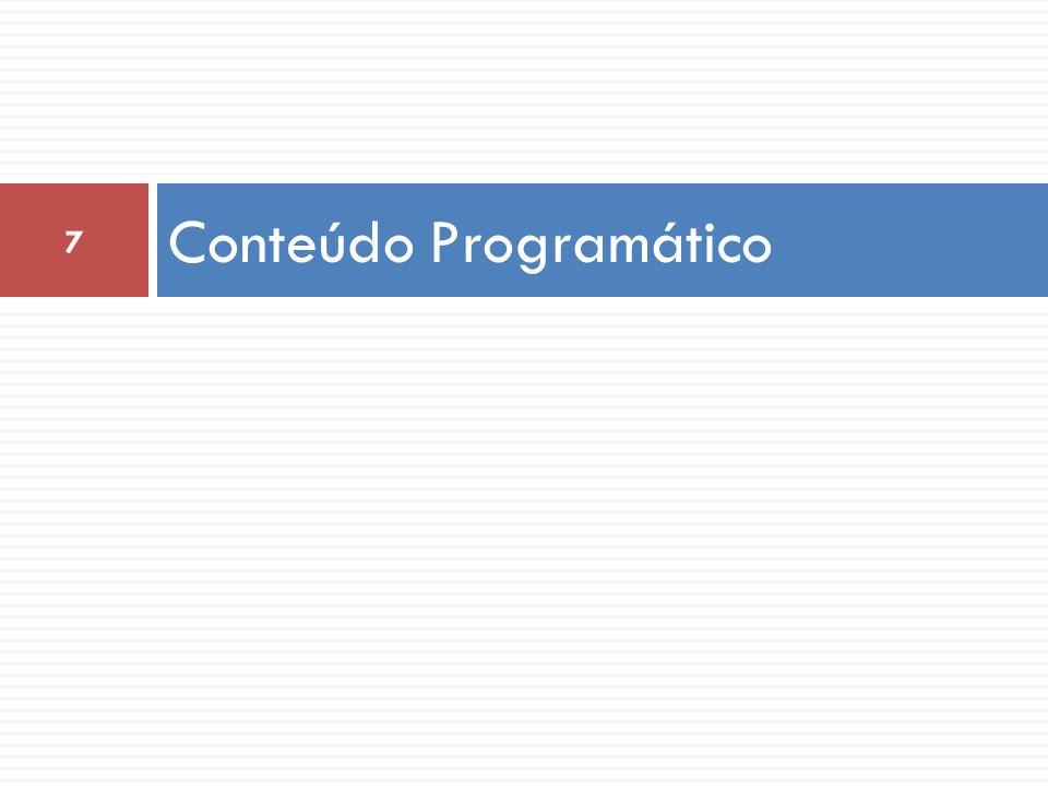 Conteúdo Programático 7