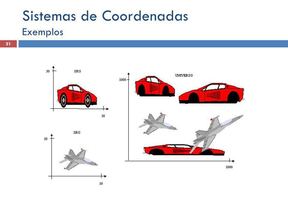 Exemplos 21 Sistemas de Coordenadas