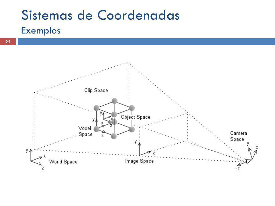 Exemplos 22 Sistemas de Coordenadas