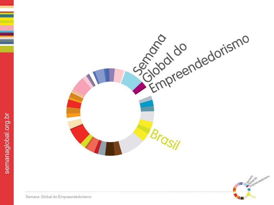 Semana Global do Empreendedorismo semanaglobal.org.br Mais de R$ 30 milhões em mídia espontânea