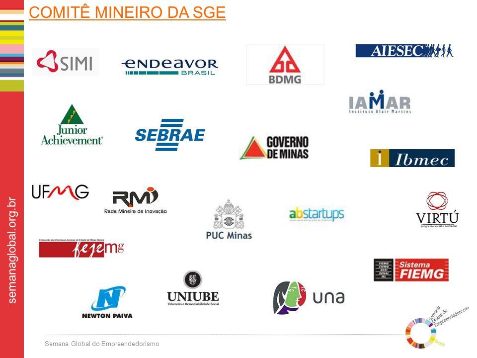 Semana Global do Empreendedorismo semanaglobal.org.br COMITÊ MINEIRO DA SGE