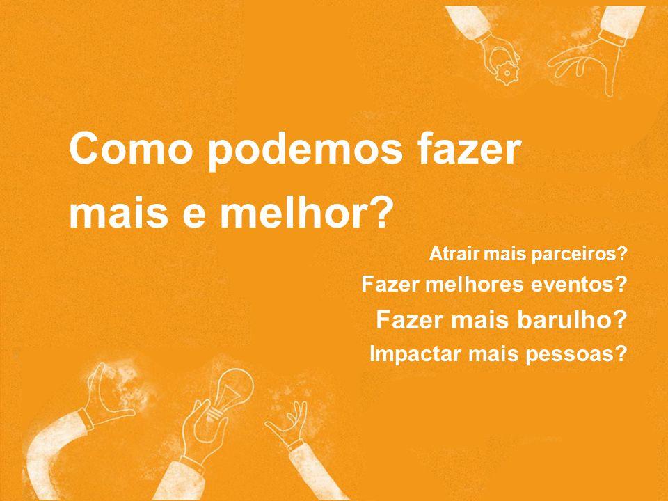 Semana Global do Empreendedorismo semanaglobal.org.br Como podemos fazer mais e melhor.
