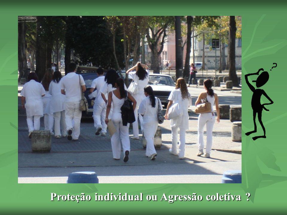 FAÇA USO RACIONAL DO SEU JALECO O jaleco deve ser usado em locais apropriados de modo a conferir a proteção individual contra as contaminações e não como potencial gerador de risco para a coletividade.