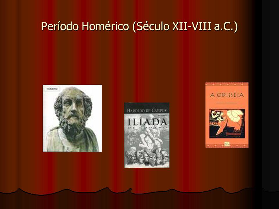 Período Homérico (Século XII-VIII a.C.)