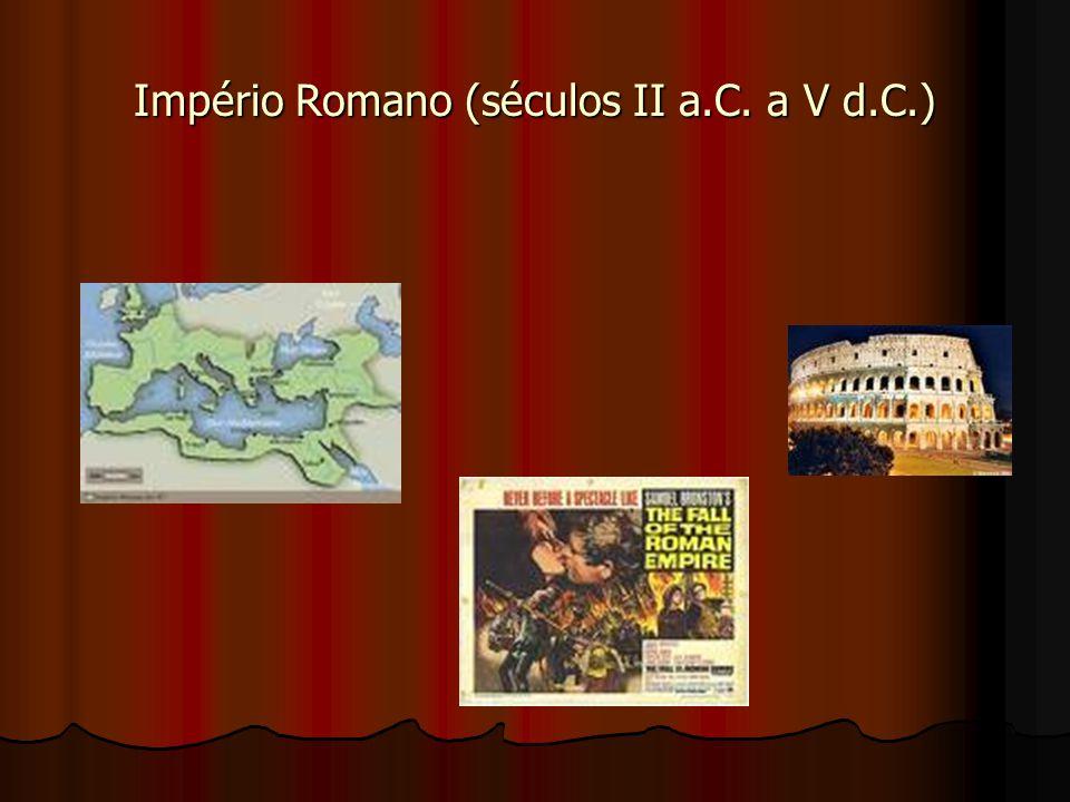 Império Romano (séculos II a.C. a V d.C.)