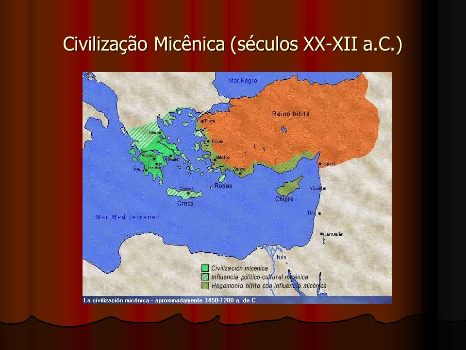 Civilização Micênica (séculos XX-XII a.C.)