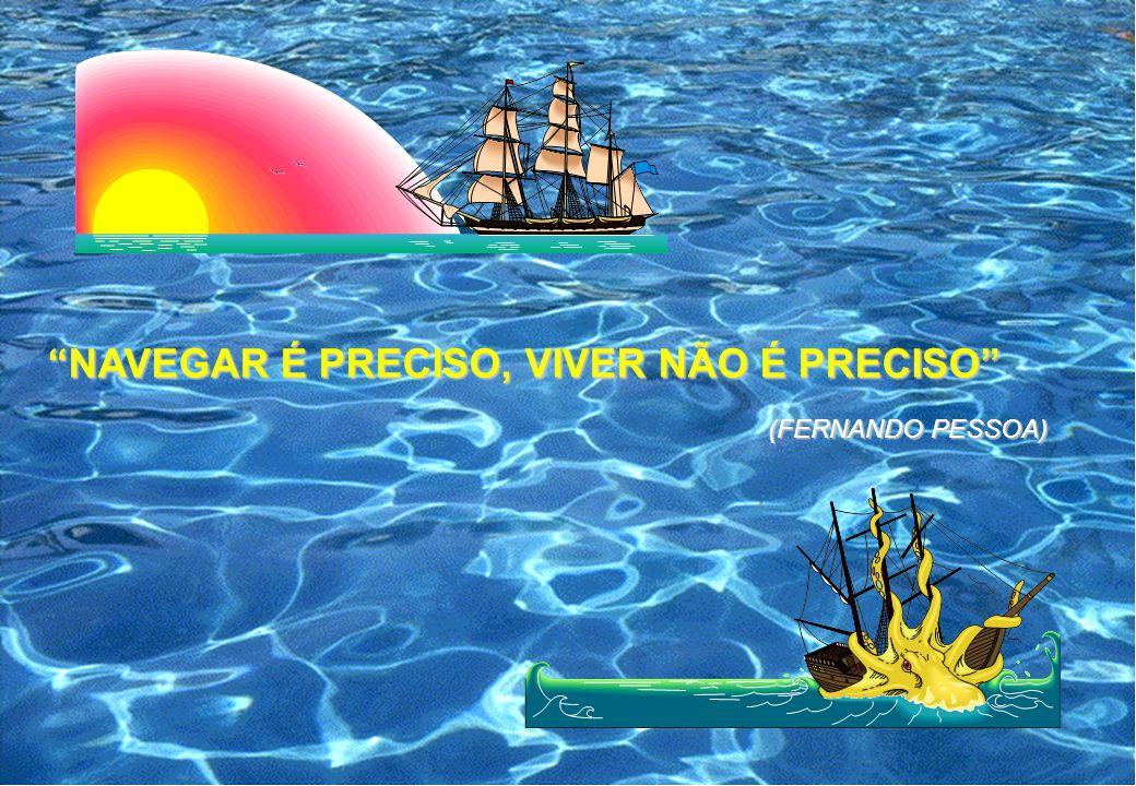 NAVEGAR É PRECISO, VIVER NÃO É PRECISO (FERNANDO PESSOA)