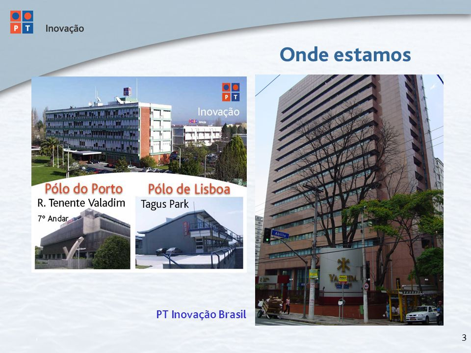 3 Onde estamos PT Inovação Brasil