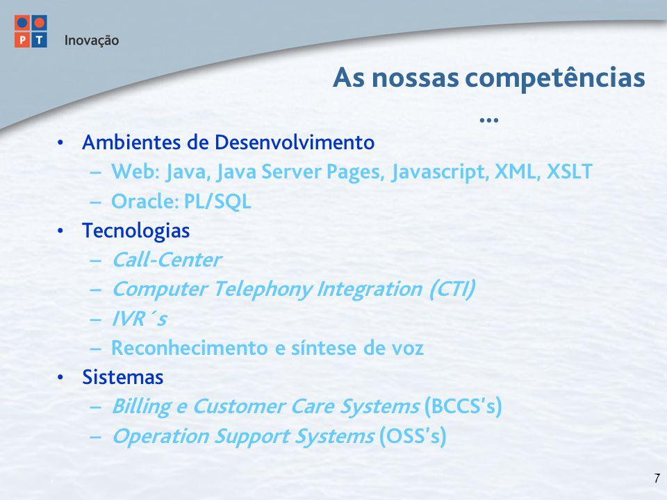 18 Arquitectura Forma como os diversos componentes do sistema se organizam e comunicam spaghetti vs.