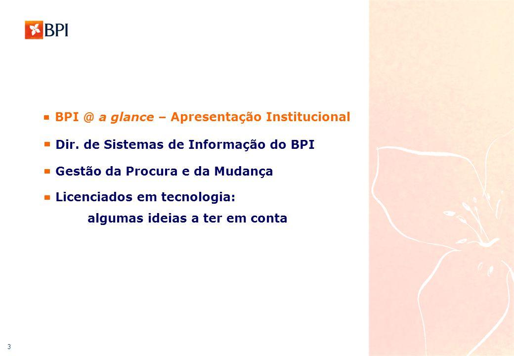 4 Apresentação do Grupo BPI Esta apresentação é actualizada trimestralmente, logo após a divulgação de resultados, ou sempre que ocorram alterações materialmente relevantes Novembro de 2005