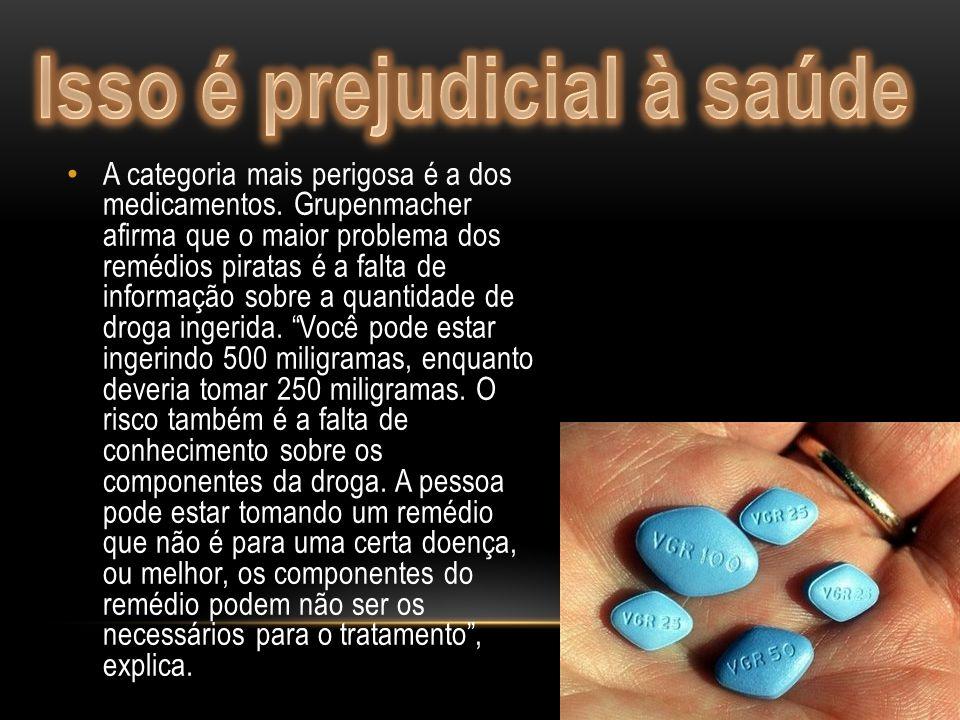 Quase 500 mil de medicamentos piratas apreendidos no Brasil. Este é o número atingido este ano pela Policia Rodoviária Federal (PRF) que ultrapassa co