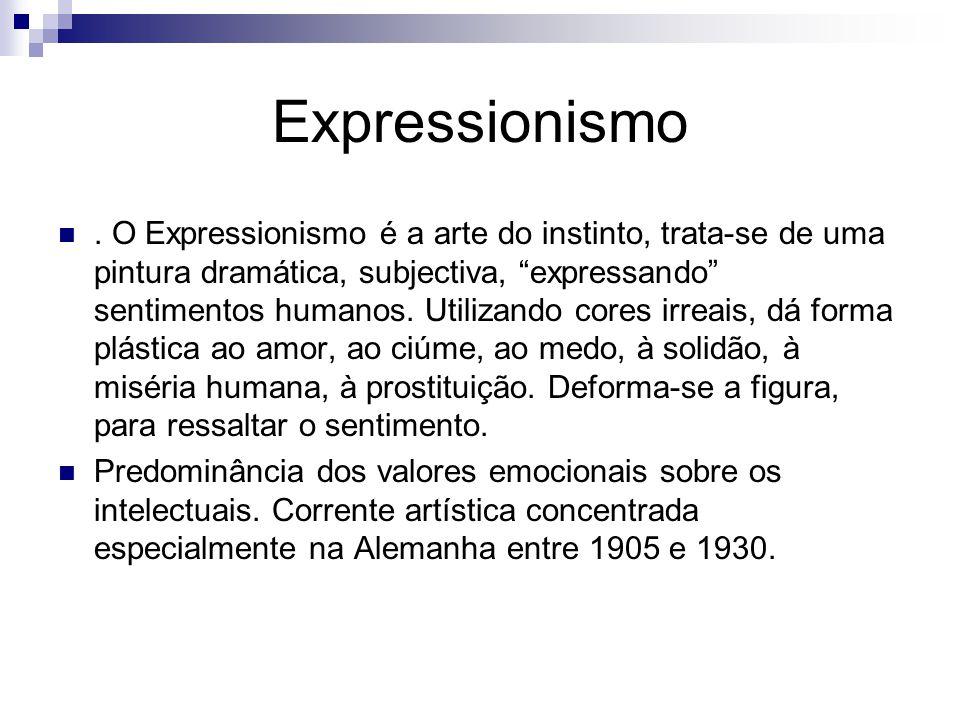 Expressionismo.