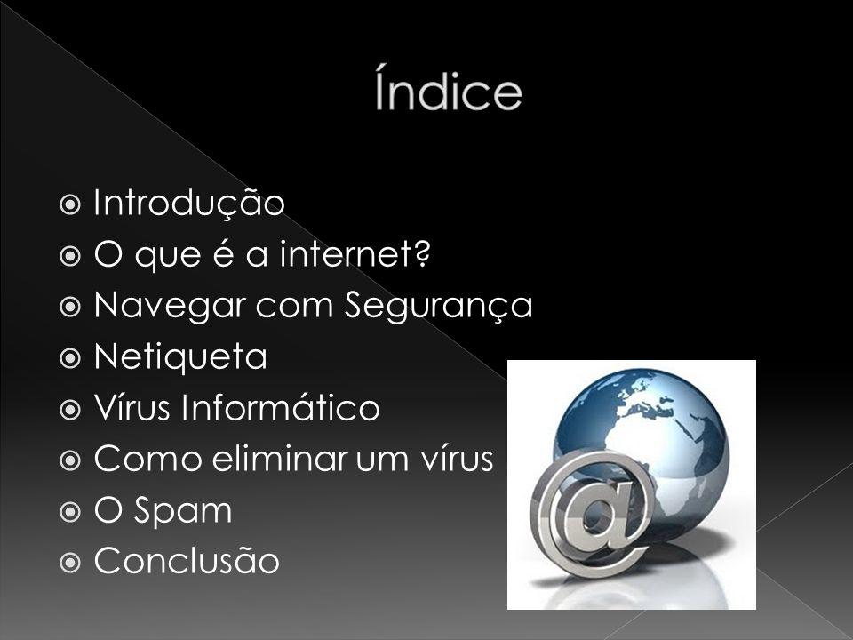  Neste trabalho, vamos aprender a ter segurança na internet, de várias formas.