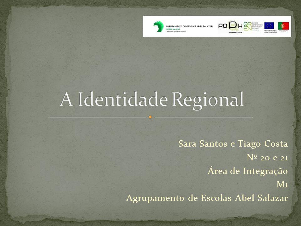 Sara Santos e Tiago Costa Nº 20 e 21 Área de Integração M1 Agrupamento de Escolas Abel Salazar