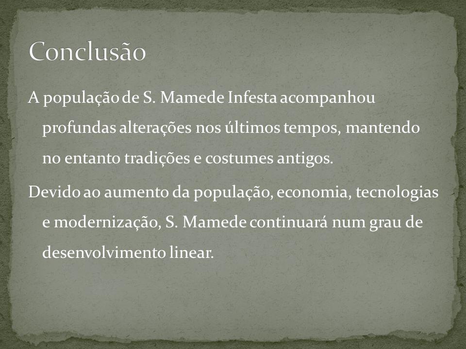 A população de S. Mamede Infesta acompanhou profundas alterações nos últimos tempos, mantendo no entanto tradições e costumes antigos. Devido ao aumen