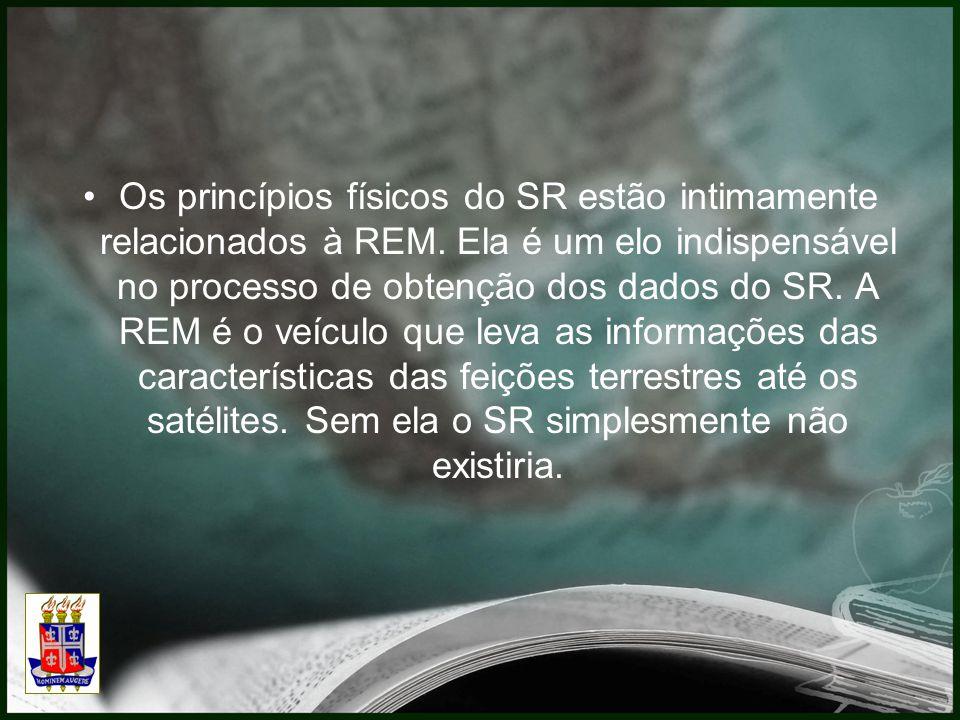 Os princípios físicos do SR estão intimamente relacionados à REM.