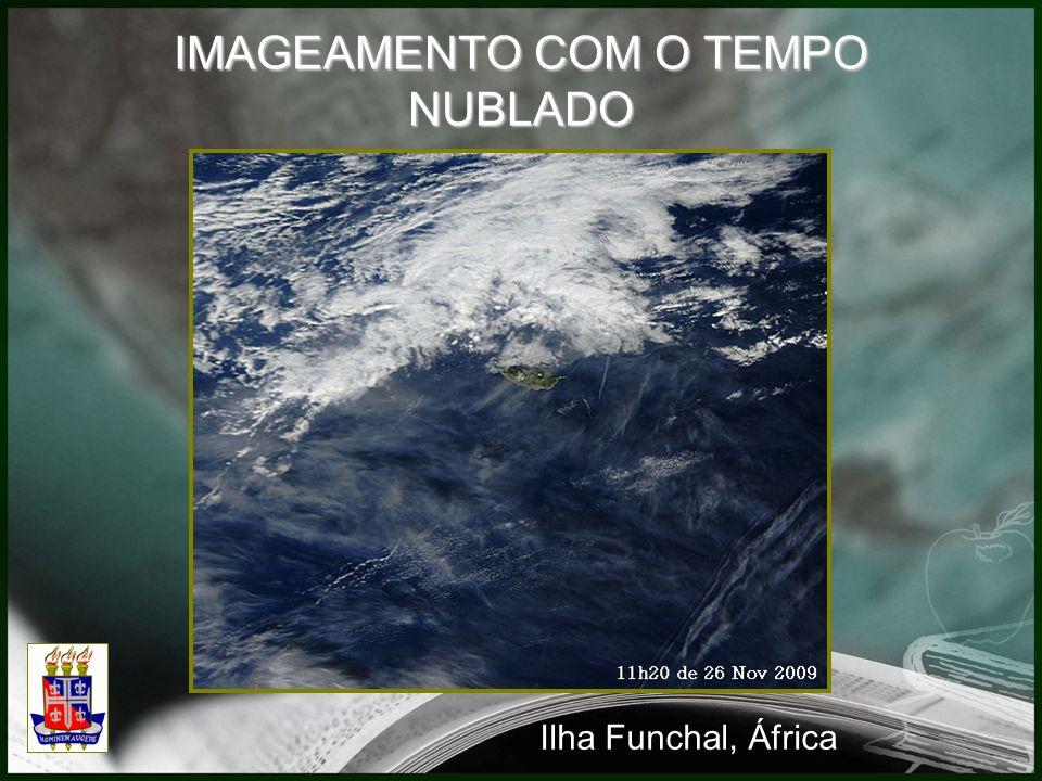 IMAGEAMENTO COM O TEMPO NUBLADO Ilha Funchal, África