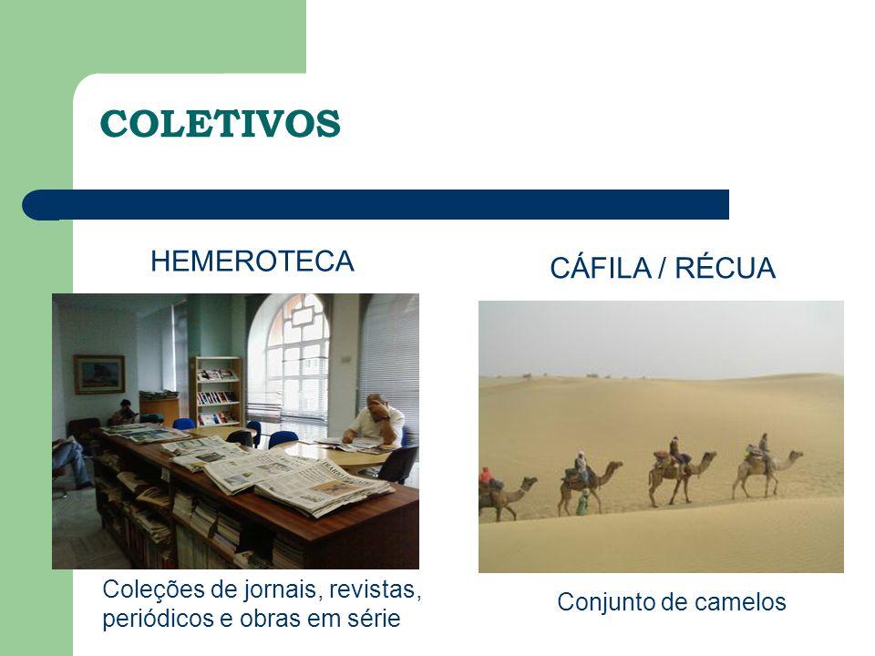 Coleções de jornais, revistas, periódicos e obras em série HEMEROTECA COLETIVOS CÁFILA / RÉCUA Conjunto de camelos