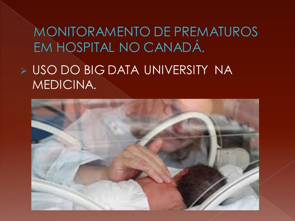  USO DO BIG DATA UNIVERSITY NA MEDICINA.