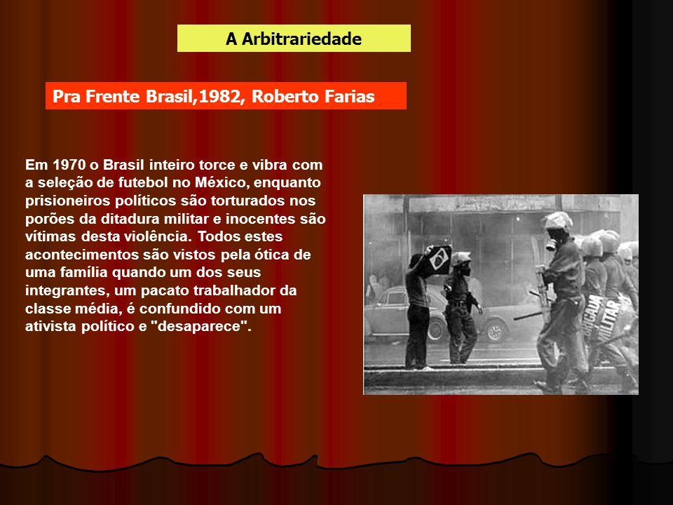 Em 1970 o Brasil inteiro torce e vibra com a seleção de futebol no México, enquanto prisioneiros políticos são torturados nos porões da ditadura milit