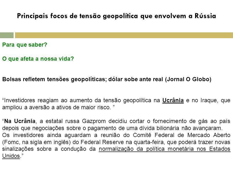 C CONCLUSÃO CONFLITOS ENVOLVENDO A RÚSSIA E A CEI