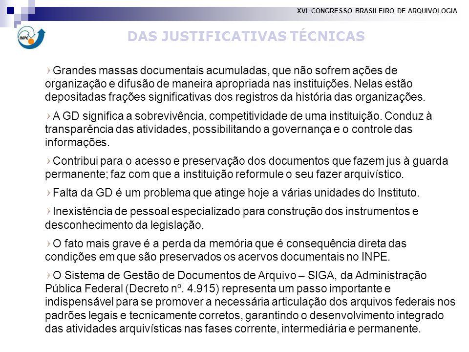 Grandes massas documentais acumuladas, que não sofrem ações de organização e difusão de maneira apropriada nas instituições.