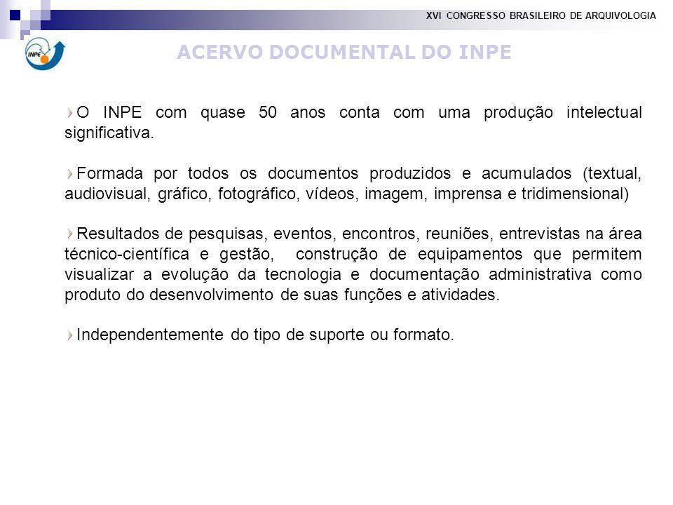 O INPE com quase 50 anos conta com uma produção intelectual significativa.