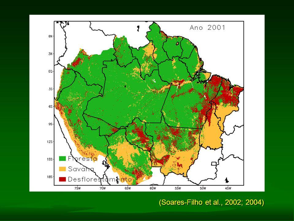 (Soares-Filho et al., 2002; 2004)