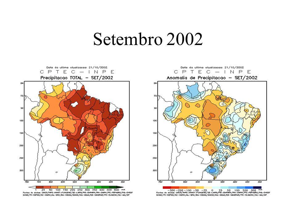 Influência da chuva 28/09/2002