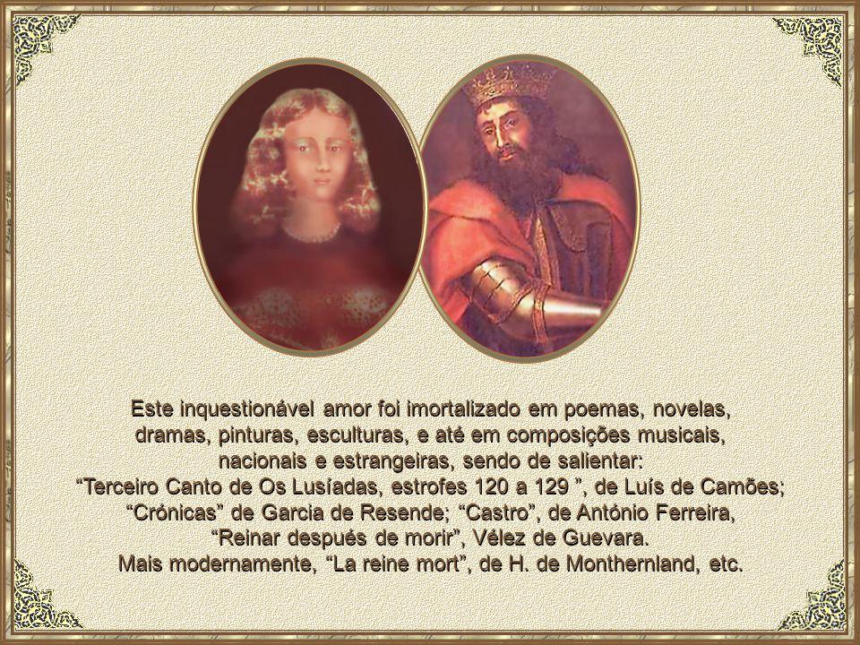 Procurando dignificar o nome de Inês de Castro, D.Pedro declarou solenemente, apresentando como testemunhas D.Gil, Bispo da Guarda e Estêvão Lobato, seu criado, que sete anos antes casara com ela em Bragança, tendo esta afirmação pública sido proferida em 12 de Junho de 1360, em Cantanhede.