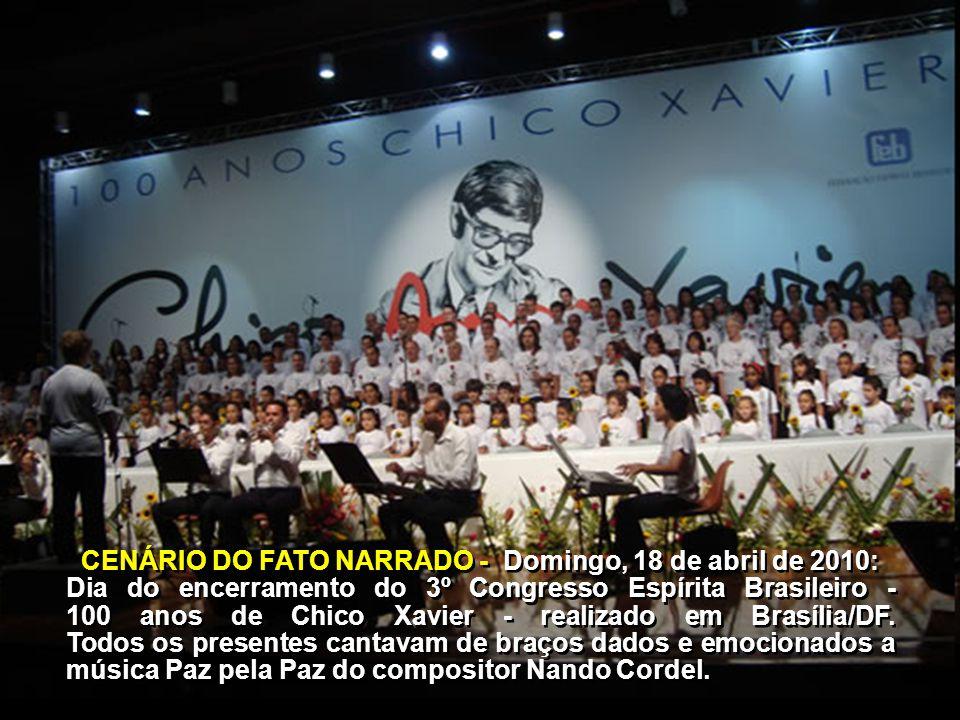 Mensagem enviada pelo Espírito Yvonne do Amaral Pereira, recebida por Marta Antunes Moura, na Federação Espírita Brasileira, em 22 de abril de 2010 e