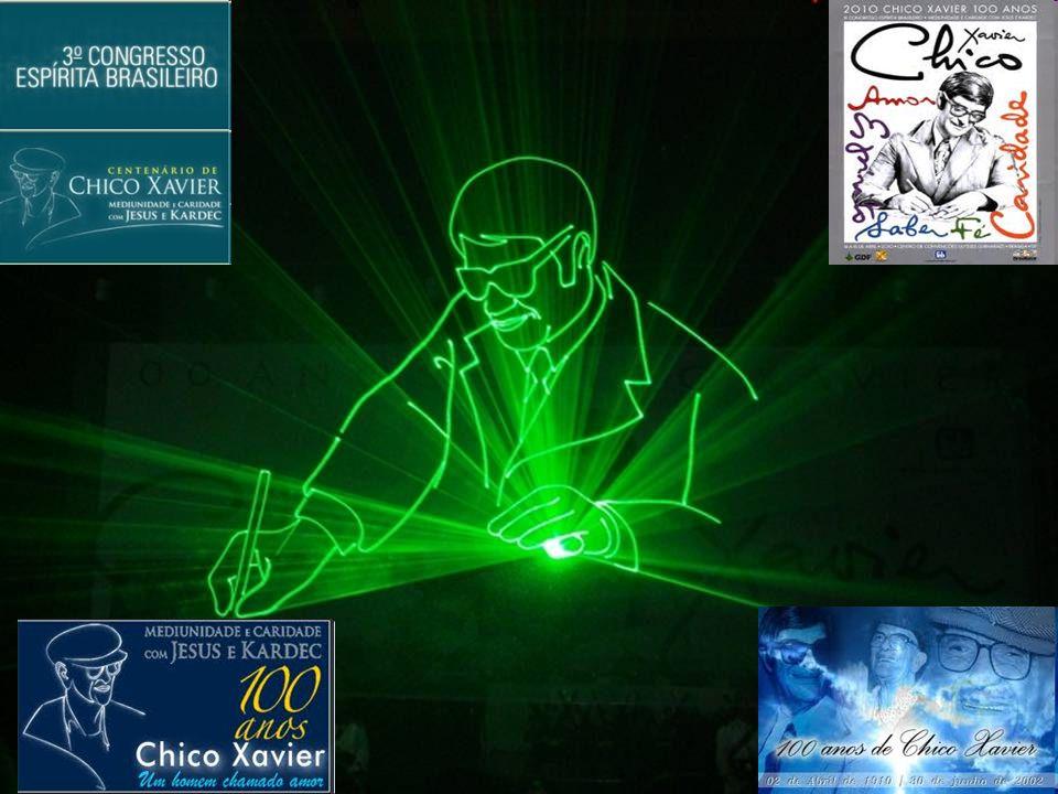 CENÁRIO DO FATO NARRADO - Domingo, 18 de abril de 2010: Dia do encerramento do 3º Congresso Espírita Brasileiro - 100 anos de Chico Xavier - realizado