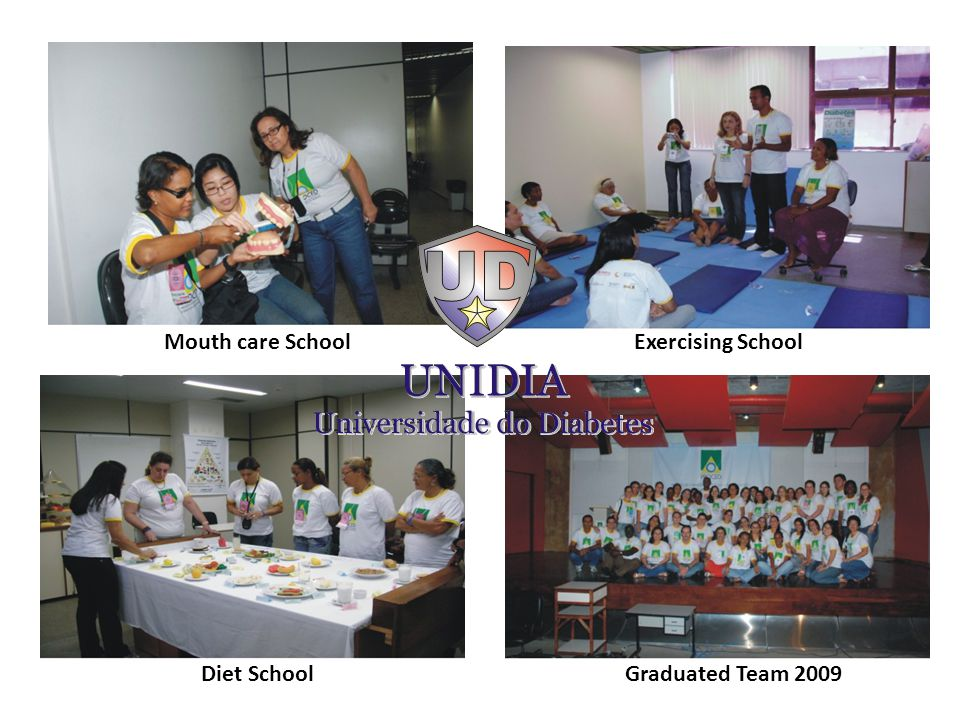 Mouth care SchoolExercising School Diet SchoolGraduated Team 2009