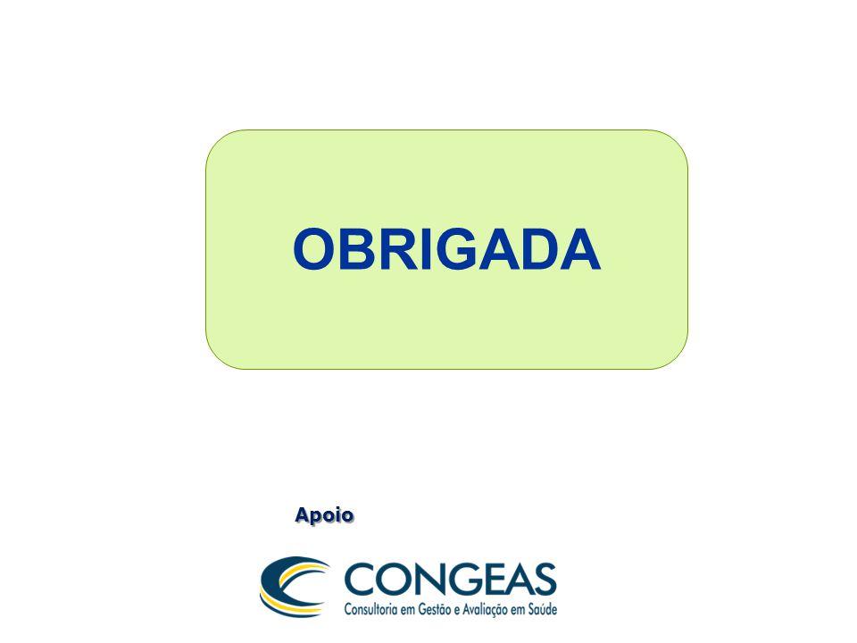 OBRIGADA Apoio