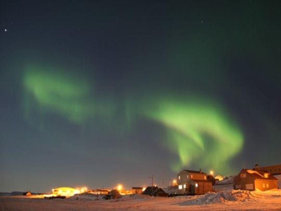 A luz dos Inuits A aurora boreal