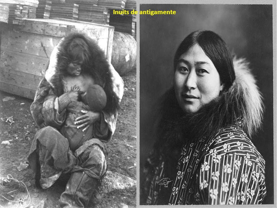 Inuits de antigamente