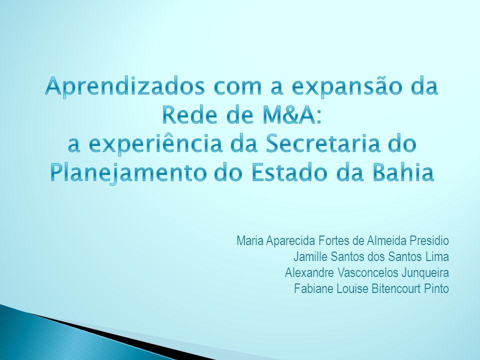 Maria Aparecida Fortes de Almeida Presidio Jamille Santos dos Santos Lima Alexandre Vasconcelos Junqueira Fabiane Louise Bitencourt Pinto